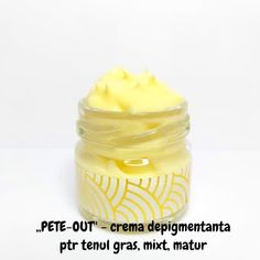 ",,PETE - OUT"" - Crema depigmentanta ptr tenul gras, mixt sau matur Pudding, Desserts, Handmade, Food, Fine Dining, Hand Made, Deserts, Custard Pudding, Puddings"