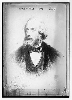 Cyrus W. Field (portrait bust)