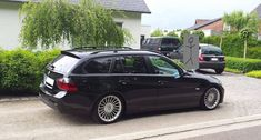 10 Awesome Reddit BMW Wagons No. 4: The wheels really set off this E91 wagon - you can find BMW wheels here: http://www.eurosporttuning.com/bmw.html?wheels=Aftermarket+Alloys