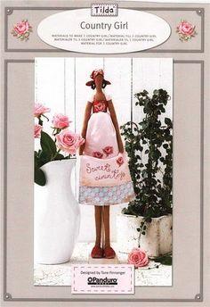 ATELIER CHERRY: bonecas de pano.paso a paso.