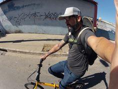 Mobilidade + skateboard