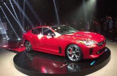 Kia Stinger sports sedan revealed , Car News - K4car.com