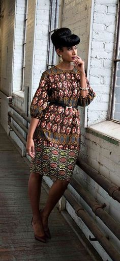 NEW Imani Ankara African Print Dress. Evening and party dress. Made of cotton ankara fabric. African Fashion Ankara, Ghanaian Fashion, African Inspired Fashion, African Print Fashion, Africa Fashion, Men's Fashion, Nigerian Fashion, Fashion Ideas, African Dresses For Women