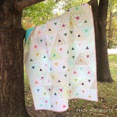 Image result for pyramid triangles quilts