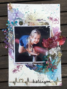 Summer is here by DT Bea. June challenge inspiration