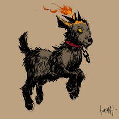 Animal Drawings, Art Drawings, Character Art, Character Design, Goat Art, Cute Goats, Satanic Art, Arte Obscura, Baby Goats