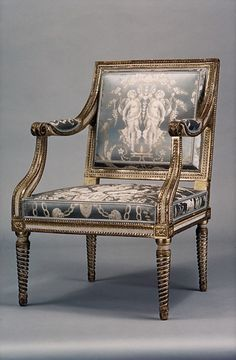 Sulpice Brizard | Armchair | French, Paris | The Met