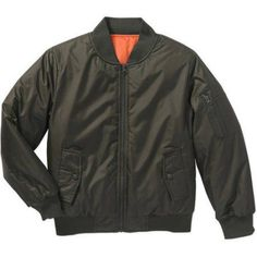 Bocini Boys' Bomber Jacket, Size: 10/12, Green