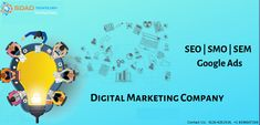 We are a Delhi based Digital Marketing Company in Noida that encourages you to strongarm your market nearness and investigate better approaches to expand your business. Best Digital Marketing Company, Digital Marketing Services, We The Best, Google Ads, Print Ads, Investigations, Encouragement, Technology, Business
