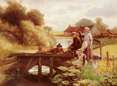 the fishing party -George paterson