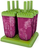 #10: Popsicle Molds Ice Pop Maker Tupperware Quality 6 Pieces BPA Free Clearance Sale