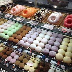 All flavors of mochi and mochi donuts @ Mochi Cream inside Mitsuwa in Torrance