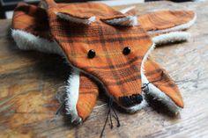 DIY Fox Scarf with Pattern