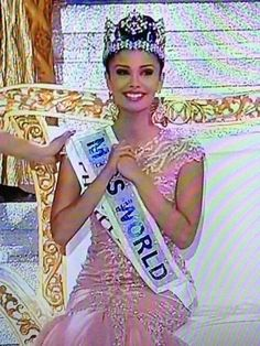 image Miss World 2013, Megan Young, Miss Philippines, Star, Image, Fashion, Moda, Fashion Styles, Fashion Illustrations