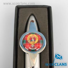 Chisholm Clan Crest Pen