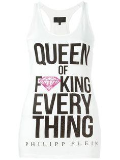 PHILIPP PLEIN 'Queen' Tank Top. #philippplein #cloth #top