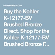 Buy the Kohler Oil Rubbed Bronze Direct. Shop for the Kohler Oil Rubbed Bronze HydroRail-R Shower Column Kit with GPM Moxie Rainhead and Flipside Handshower and save. Pull Out Kitchen Faucet, Oil Rubbed Bronze, Shower, Brushed Nickel, Stuff To Buy, Bathroom, Rain Shower Heads, Washroom, Full Bath