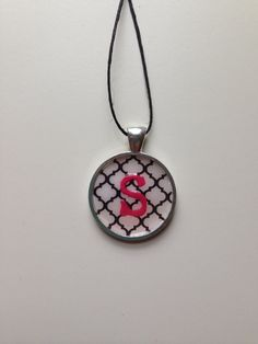 Shop for personalized on Etsy, the place to express your creativity through the buying and selling of handmade and vintage goods. Initial Pendant Necklace, Quatrefoil, Chevron, Initials, Creative, Handmade, Stuff To Buy, Etsy, Vintage