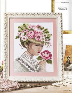 Victorian Beauty (Lesley Teare) From Cross Stitch Gold N°130 July 2016 2 of 5