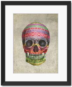 Navajo Skull by Terry Fan - Fine Art Print
