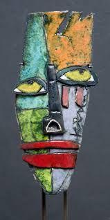 Resultado de imagen para mascaras pinterest ceramica