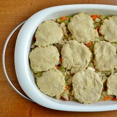 This homemade chicken pot pie is a healthy, delicious, one-pot meal that your family will love. It's so easy to make, too.