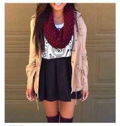 40 Pretty Teen Fashion Outfits | http://www.stylishwife.com/2014/11/pretty-teen-fashion-outfits.html
