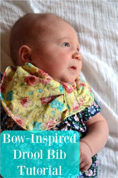 Feather's Flights {a creative, sewing blog}: FREE PATTERN: Bow-Inspired Baby Drool Bib