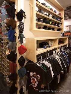Client: RECIPROCAL SKATEBOARDS | Custom product display & storage Craft Storage, Storage Ideas, Men Closet, Product Display, Skateboards, Sweet Home, Paint, Cool Stuff, Lighting