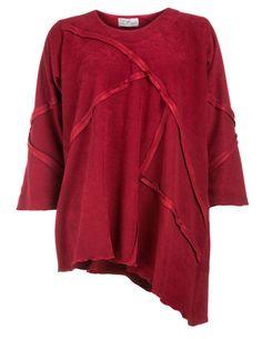 knitter shirt mit beuteltaschen von donna sophia in pink. Black Bedroom Furniture Sets. Home Design Ideas