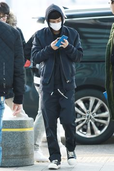 160218 EXO Chen | Incheon Airport to Chicago