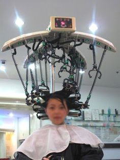 Digital Perm for loose end curls. Gotta look into doing this when I go to Asia