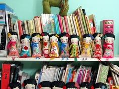 VIRGINIA  - Original Handmade Fabric Doll by Danita Art (Approx. 8 Inches Tall)…