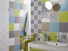 Bathroom Tiles Colour Combination rainbow bathroom marjoliemaman | dětské lázně | pinterest