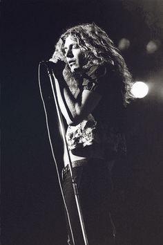 Robert Plant, 1971.