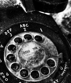 325-4942, still remember how that feels to dial my childhood home phone..fine art black and white photography -141 | Arthur Ransome Photography