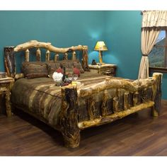 The True Blood Extremely Gnarly Aspen Log Bed Price: $1,300.00