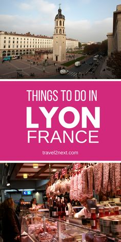 France's famous foodie city is a lovely place to visit. Here are the best things to do in Lyon, France. #lyon #france #food #restaurants #frenchfood #travel #thingstodo