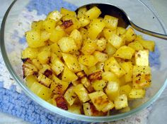 Maple Glazed Rutabaga - no Thanksgiving meal is complete without this tasty root vegetable. A Family Tradition.