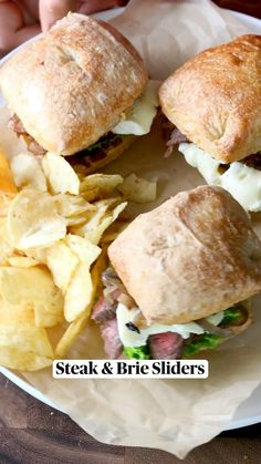 Healthy Sandwich Recipes, Healthy Sandwiches, Sandwiches For Dinner, I Love Food, Good Food, Yummy Food, Tasty, Beef Recipes, Cooking Recipes