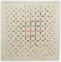 Eclipse quilt by Lori Mason Design Neutral Quilt, Quilt Modernen, Geometric Quilt, Modern Quilt Patterns, Modern Quilting, Patchwork Patterns, Contemporary Quilts, Scrappy Quilts, Patchwork Quilting