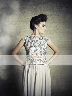 The INNANA Woman is..beautiful! #INNANAbyMK #India #dress #Mumbai #style #JADEbyMK