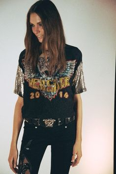 Moda rock and roll outfits rocker chic 41 Ideas Rock Style, My Style, Rocker Chic, Trend Fashion, Look Fashion, Lolita Fashion, Milan Fashion, Gothic Fashion, Glam Rock