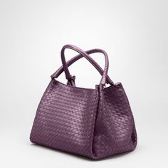 fe611c6953  Bottega Veneta® - Ebano Intrecciato Nappa Parachute Bag 