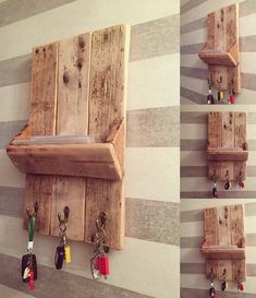 Old pallets shelf idea pallets wood pallet recycling, pallet Wooden Pallet Crafts, Wood Pallet Recycling, Wooden Pallet Furniture, Recycled Pallets, Old Pallets, Diy Pallet Projects, Wooden Pallets, Wooden Diy, Woodworking Projects