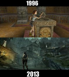 Tomb Raider Avant/Après