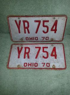 Another Great item from RFS13 eBay Auctions:Original License Plate 1970 Ohio. Come see what else we listed for your pleasure