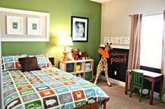 {Big Boy Room} The Re-do: From Toddler to Kindergartner