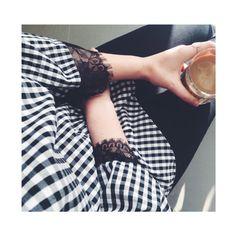 Morning ~ coffee, sunshine and new cool checks ☕️▪️◻️▪️ #fashionwear#productionchina#madebyoriental#newin