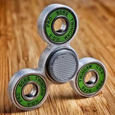 Another skillfully crafted hand made Fidget Spinner. So professional! I wonder how it spins? Check out our super awesome Dizzy Spinners at www.dizzyspinners.com Perfect for fidgety hands- The dizzy spinner can get up to a 3+min very smooth and satisfying spin time. Keep your hands busy and your mind clear. Fast delivery and ultimate satisfaction....